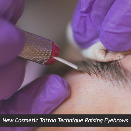 New Cosmetic Tattoo Technique Raising Eyebrows
