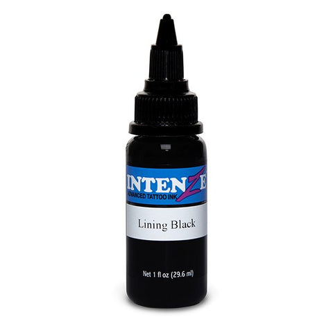 Intenze Tattoo Ink - Lining Black - Pick Size