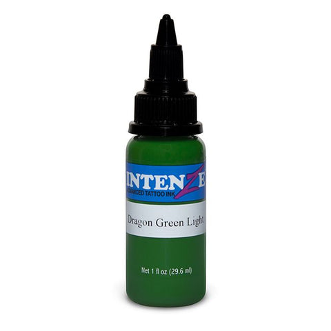 Dragon Green Light — Intenze Tattoo Ink — 1oz Bottle