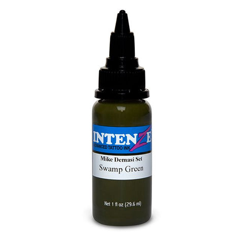 Intenze Tattoo Ink - Swamp Green Demasi Series - Pick Size