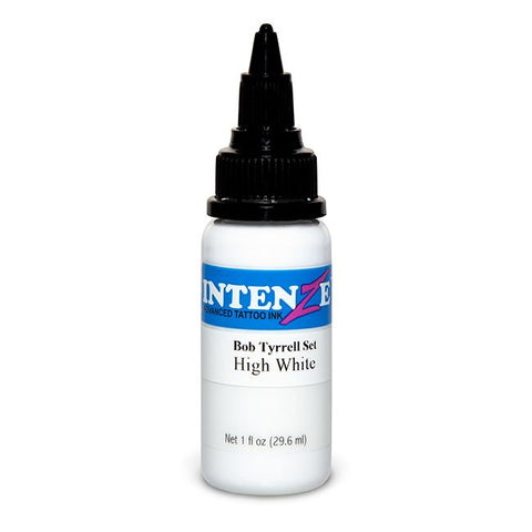 Intenze Tattoo Ink - High White By Bob Tyrrell - Pick Size
