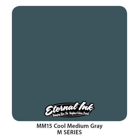 Eternal Tattoo Ink - Cool Medium Gray M Series - Pick Size