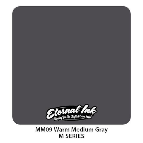 Eternal Tattoo Ink - Warm Medium Gray M Series - Pick Size