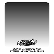 Eternal Tattoo Ink - Darkest Gray Wash - Pick Size