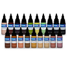 Andy Engel Essentials 1oz Series — Intenze Tattoo Ink — 19 Bottles