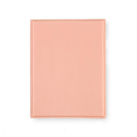 APOF Tattooable Rectangular Plaque - Pink Tone