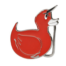 Devil Rubber Ducky Funny & Popular Wholesale Belt Buckle Duckie