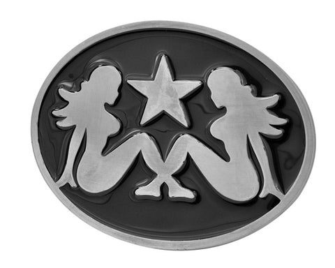 Sexy Mudflap Girls Belt Buckle Southern Mud Flap #1