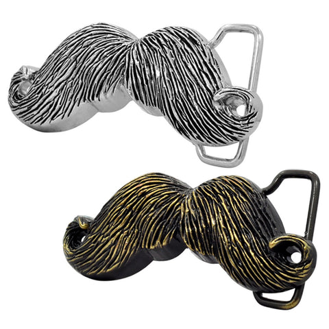 Mens Fancy Moustache Lover Hipster Funny Belt Buckle