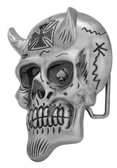 Devil Biker Skull Belt Buckle