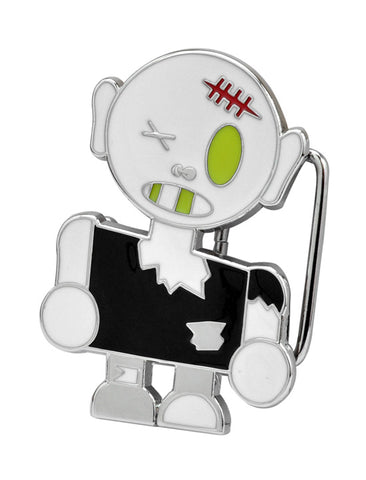 Zombie Boy Belt Buckle Walking Dead Fun