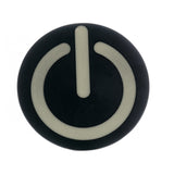 Men's Power On Off Button Rave Modern Technology Joke Belt Buckle