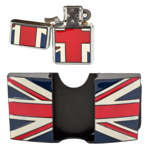 British Flag Union Jack UK Removable Lighter Belt Buckle