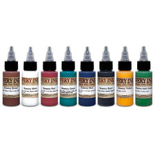 Bowery Ink 1oz Set — Intenze Tattoo Ink — 8 Bottles