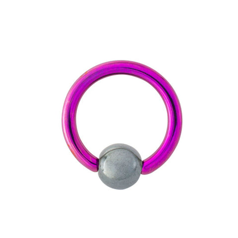 Grade 23 Titanium Captive Bead Ring