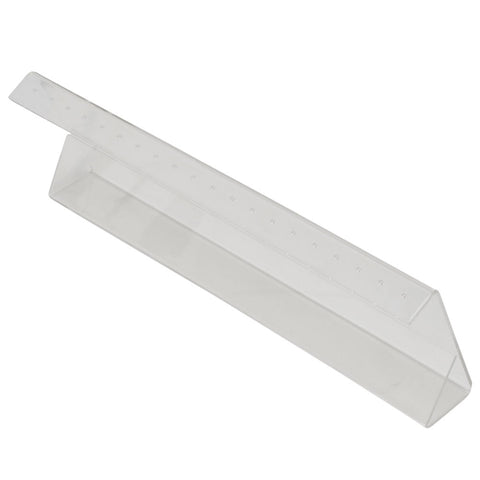 Z-Strip Acrylic Countertop Display - Holds 20 Pieces