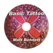 DVD | Shared LEARN TO TATTOO - DVD by Matthew Bennett |N/A|N/A