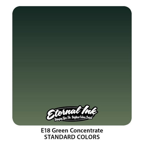 Eternal Tattoo Ink - Green Concentrate - Pick Size