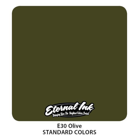 Eternal Tattoo Ink - Olive - Pick Size