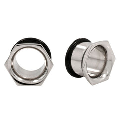 Hexagon Machined Earlet Tunnels