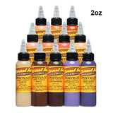 Eternal Tattoo Ink - Portrait Color Set of 12 - 2oz Bottles