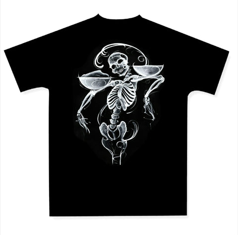 A Pound of Flesh Men's Black Tee