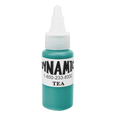Dynamic Tattoo Ink Color Teal 1oz