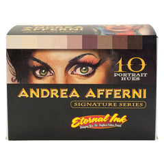 Eternal Tattoo Ink Andrea Afferni Portrait Series 10 Piece Set