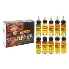 Eternal Tattoo Ink Rember Signature Series 10 Piece Set