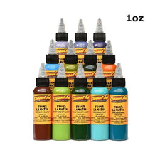 Eternal Tattoo Ink - Frank La Natra Atmospheric Landscapes Set of 12 - 1oz Bottles