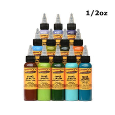 Eternal Tattoo Ink - Frank La Natra Atmospheric Landscapes Set of 12 - 1/2oz Bottles