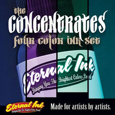 Eternal Tattoo Ink - The Concentrates Set of Four - 1/2oz Bottles