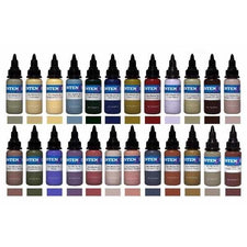 Steve Butcher 24 Color Set — Intenze Tattoo Ink — 1oz Bottles