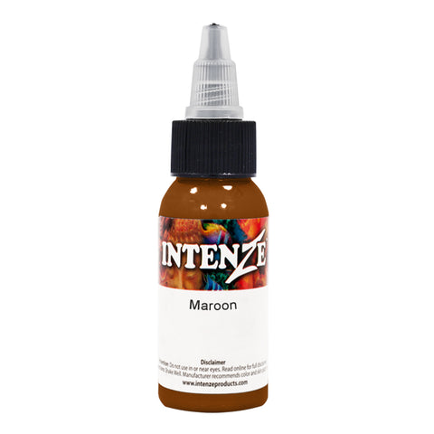 Intenze Professional Tattoo Ink | Maroon