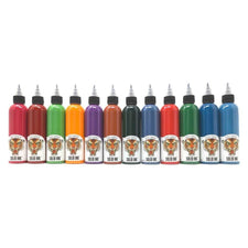 Chris Garver 12 Color Deluxe Box Set - Solid Ink - 4oz Bottles