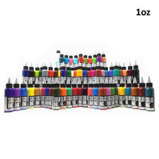 60 Color Mega Set - Solid Ink - 1oz Bottles