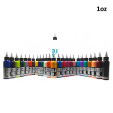 25 Color Fundamental Set - Solid Ink - 1oz Bottles