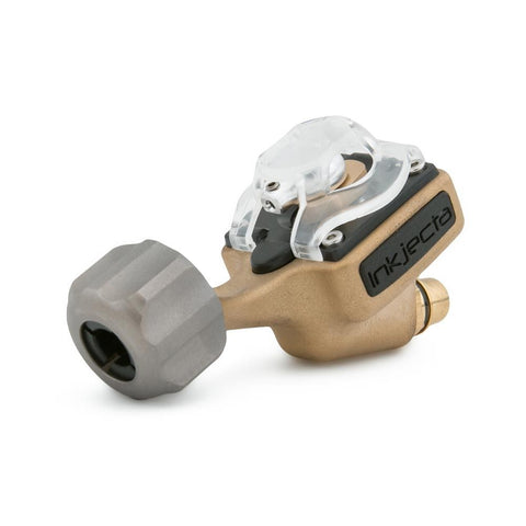 InkJecta Flite Nano Elite Tattoo Machine - Blast Brass