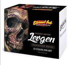 Eternal Tattoo Ink - Levgen Signature Series Set of 12 - 1oz Bottles