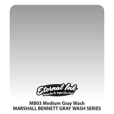 Eternal Tattoo Ink - Marshall Bennett Medium Graywash - Pick Size