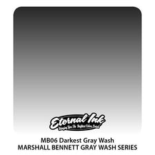 Eternal Tattoo Ink - Marshall Bennett Darkest Graywash - Pick Size