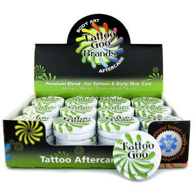 Case of 36 Tins of Tattoo Goo Original - .33oz