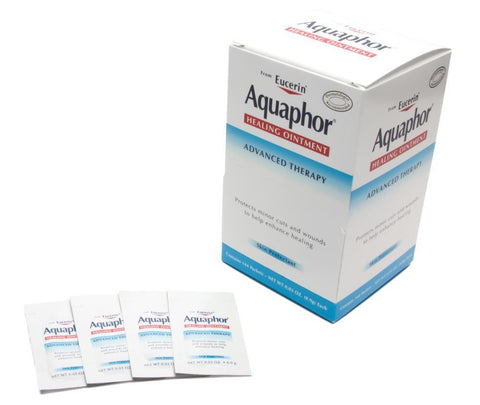 Aquaphor Healing Ointment Advanced Therapy - Box of 144 Packs - .9g