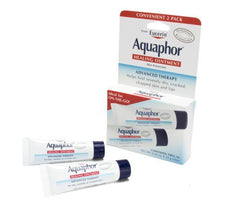 Aquaphor Healing Ointment Advanced Therapy  - 2-Pack of Tubes - .35oz