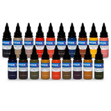 Mike DeMasi Color Portrait Set — Intenze Tattoo Ink — 1oz — 19 Bottles
