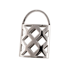 Stainless steel weave basket stainless steel pendant