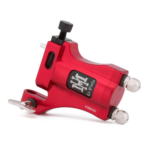 HM La Pinta Red - Adjustable Shader Rotary Tattoo Machine -Clip Cord Model