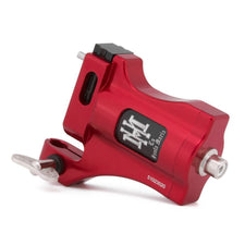 HM La Santa Maria Red - Black & Grey Shader Rotary Tattoo Machine - RCA Model