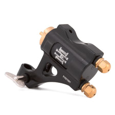HM Direct Drive Classic Black - Adjustable Stroke Rotary Tattoo Machine - Clip Cord Model
