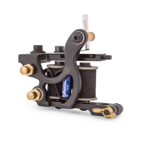 HM Bruno Kea Iron Side Wheeler - 8 Wrap Liner Coil Tattoo Machine